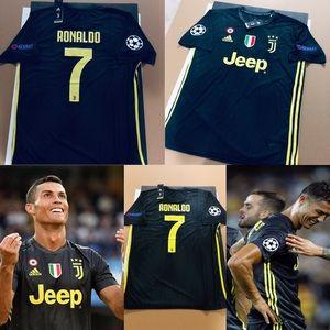 6ddc0a371ad adidas Shirts - Cristiano Ronaldo  7 Juventus Soccer Jersey UEFA